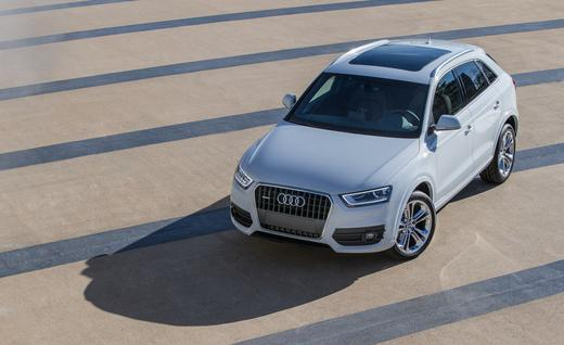 2015 Audi Q3 SUV Crossover.