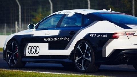 The autonomous RS 7 Concept that started it all.