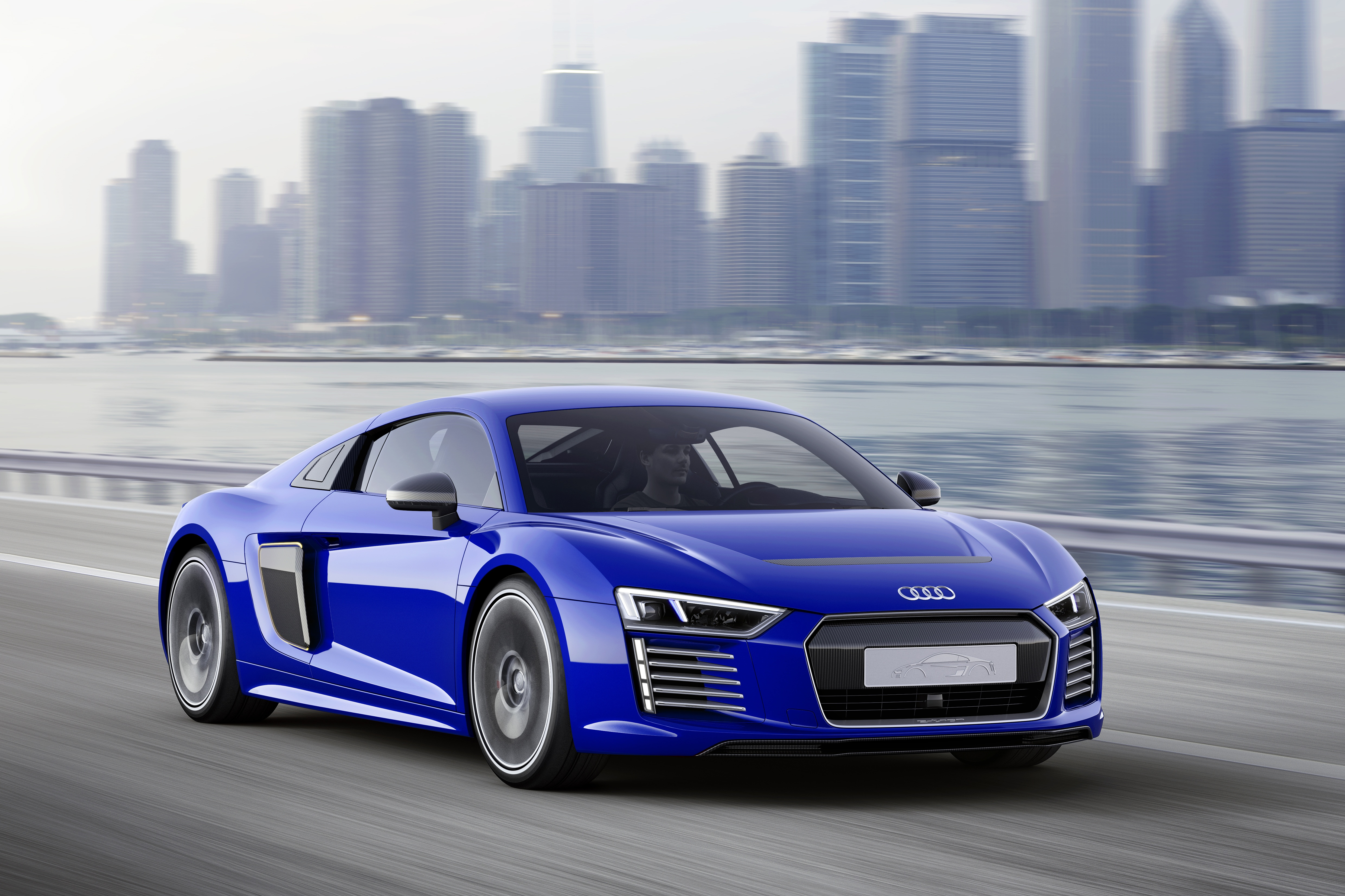 Audi R8 e-tron Piloted driving Concept Model Specs and Features