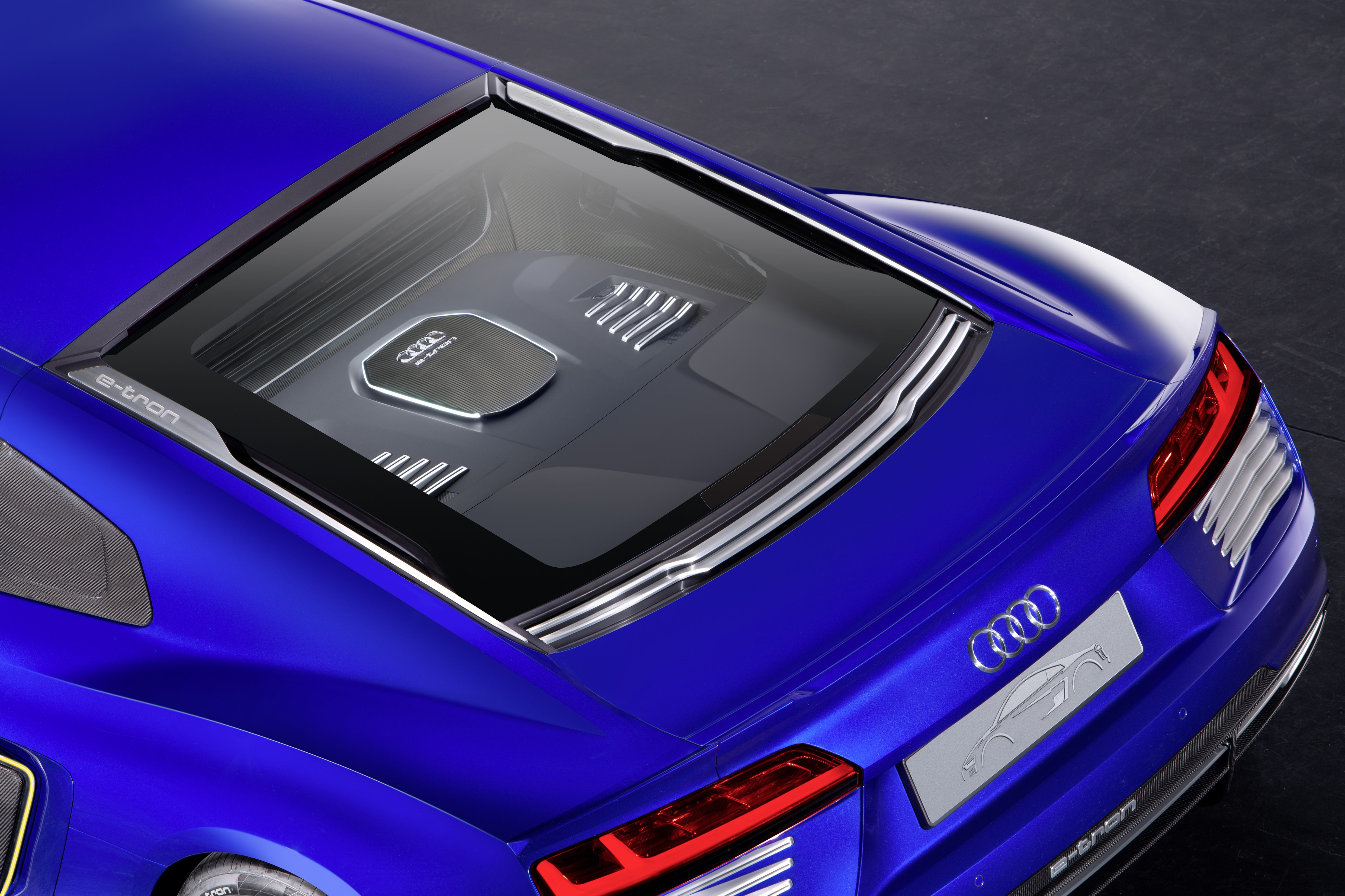 Audi R8 e-tron Piloted driving Concept Model design and specs