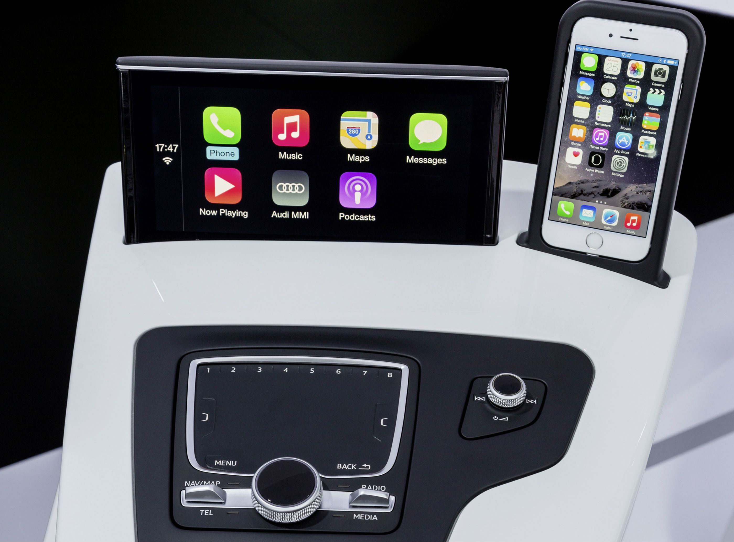 when will audi get android auto and apple carplay