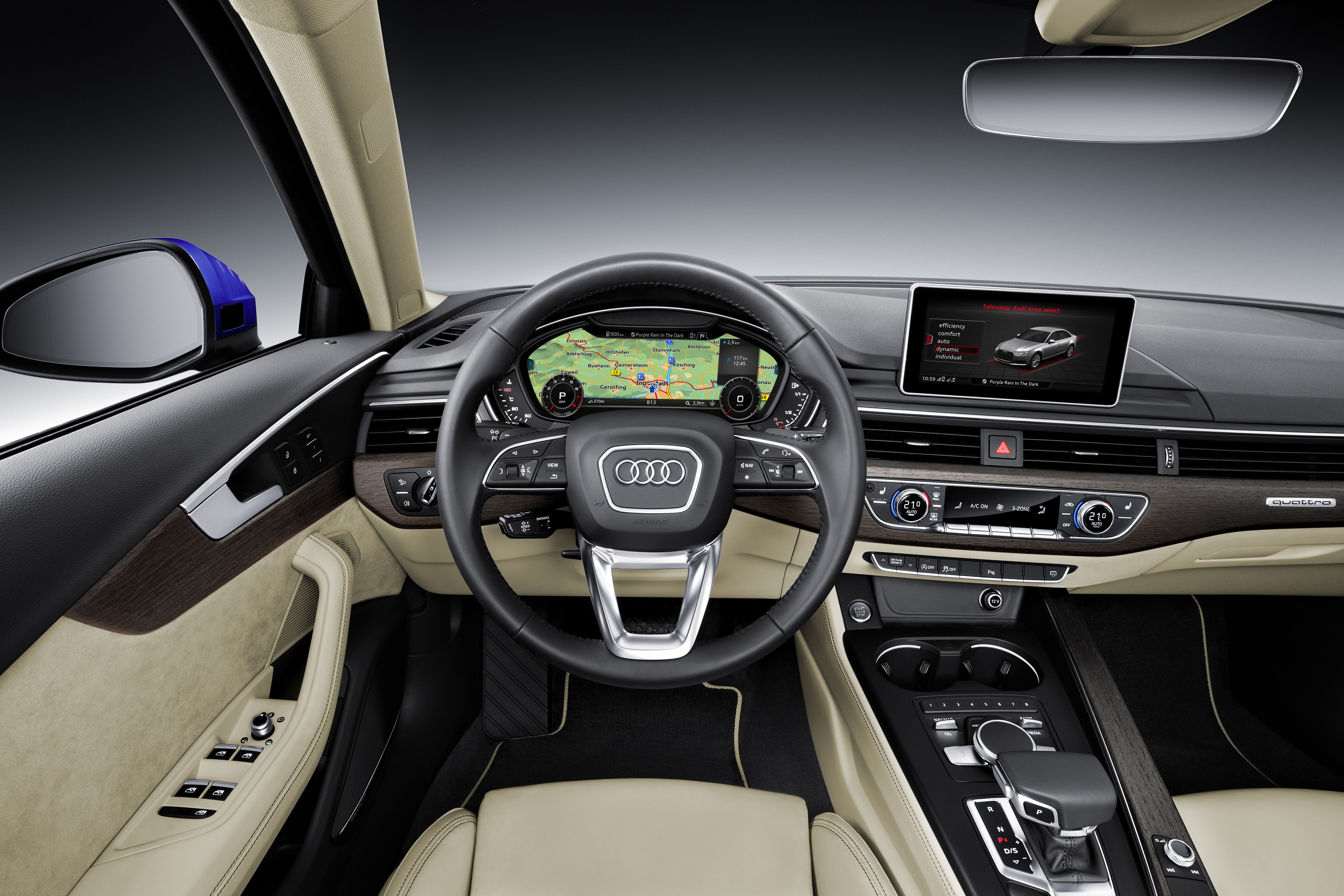 2016 Audi A4 Specs and Release Date interior specs mmi navigation plus mmi touch infotainment system