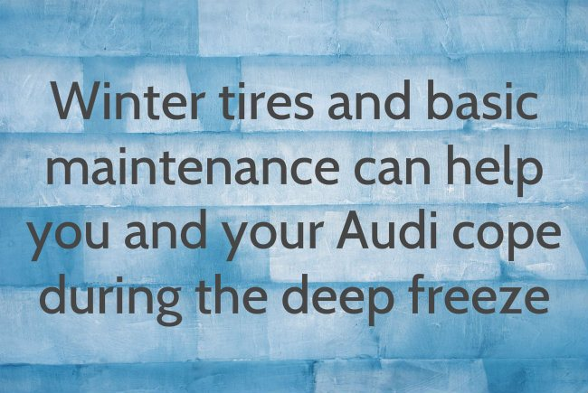 tips for preparing your Audi for winter