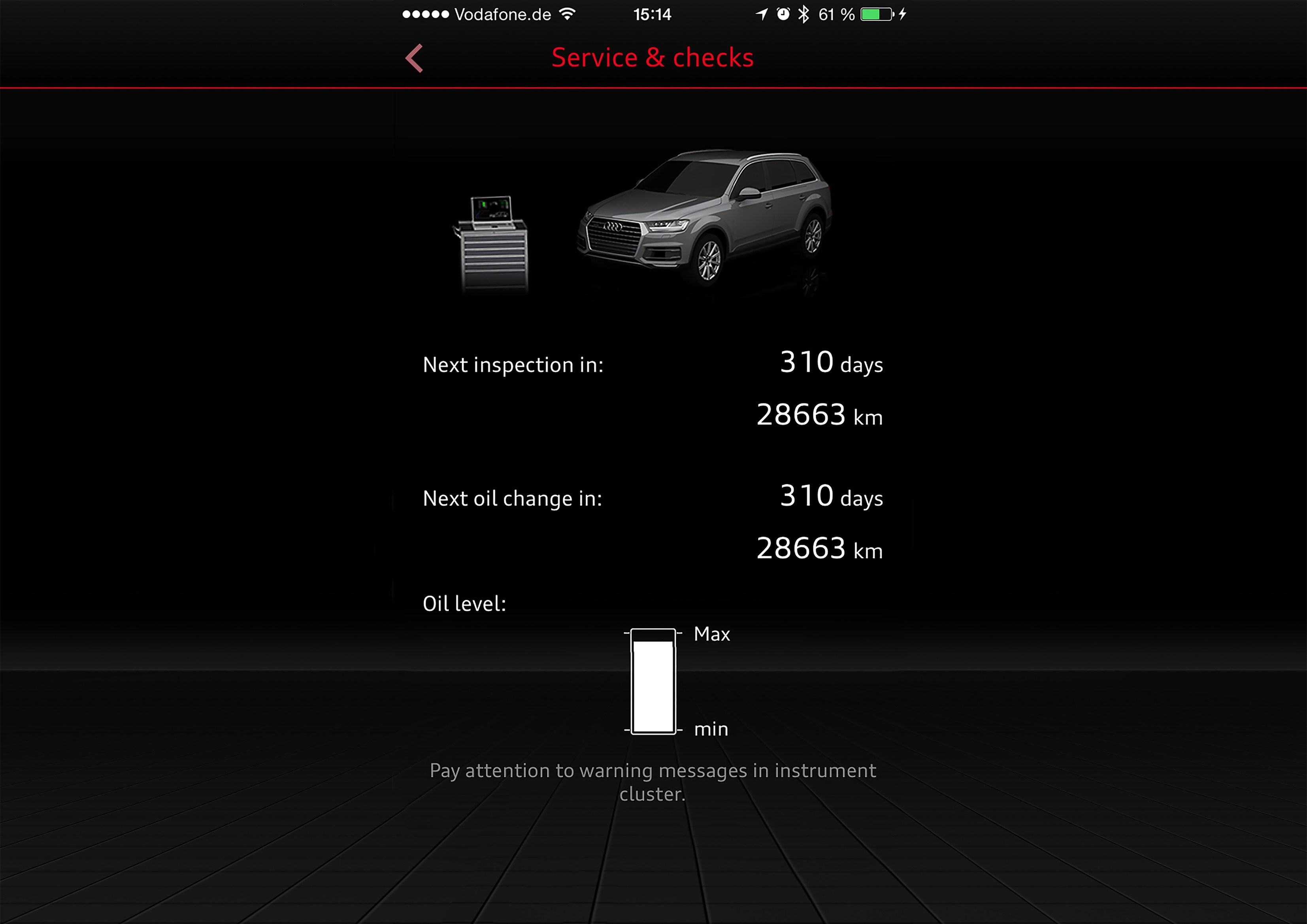 Audi myCarManager and myService Features audi my carmanager features audi mmi connect smartphone app features
